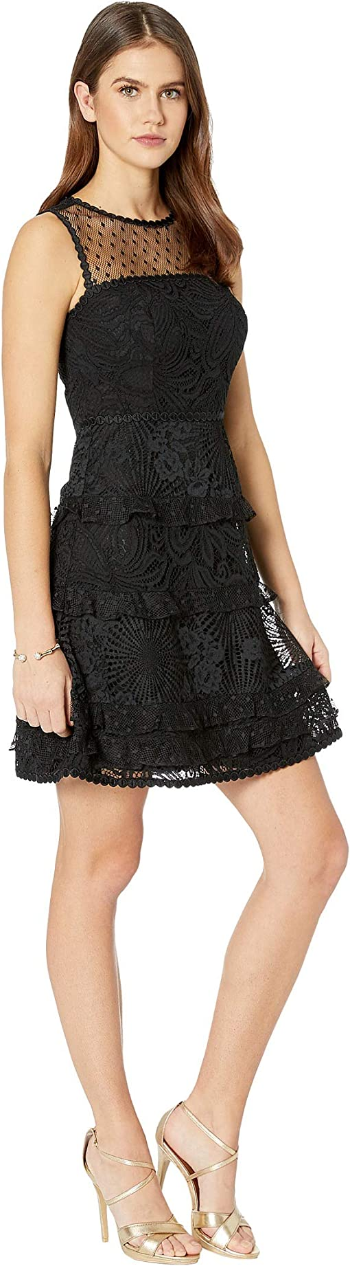 Onyx Floral Loopy Lace