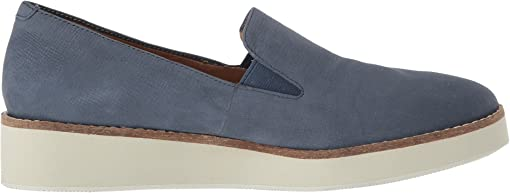 Denim Embossed Soft Leather