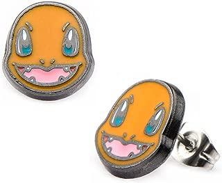 INOX Pokemon Charmander Stud Stainless Steel Earrings