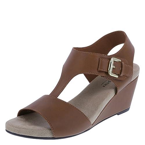 e850cbfc2305bc Predictions Comfort Plus Women s Vanna Mid-Wedge Sandal