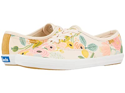 Keds Keds x Rifle Paper Co. Champion Garden Party (Pink Printed Leather) Women
