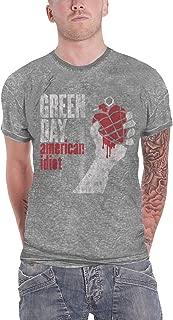 T Shirt American Idiot Vintage Album Official Mens Burnout Slim Fit