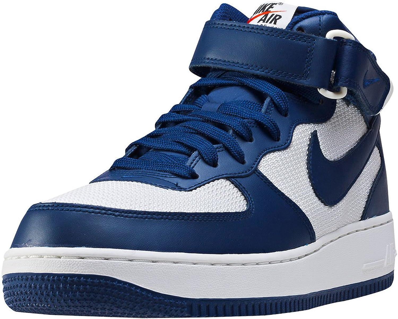 Nike Air Air Air Force 1 Mid 07 herr Tränare blå vit - 11 Storbritannien  snabb frakt och bästa service