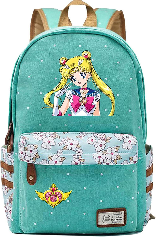 Children Cheap School Backpack-Girls Sailor Quantity limited Moon Knapsack Lightweight