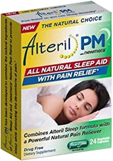 Sponsored Ad - Alteril PM - All Natural Sleep Aid with Pain Relief - 24 Tablets