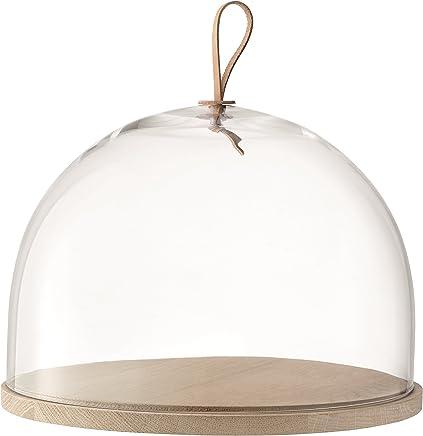 Preisvergleich für LSA International Ivalo Kuppel mit Boden aus Esche, transparent, farblos, 32 cm