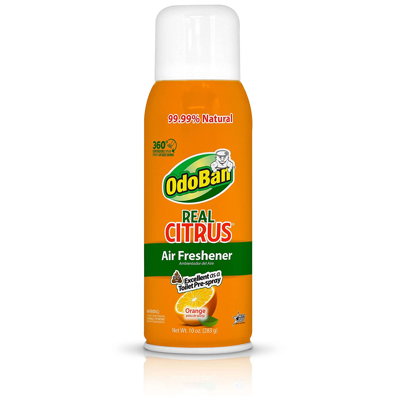 OdoBan Real Citrus Orange Air Spray and 360 Freshener Continuous latest Jacksonville Mall