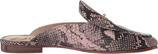 Deco Pink Exotic Snake Print Leather