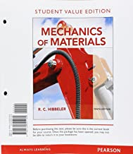 Mechanics of Materials, Student Value Edition (10th Edition)