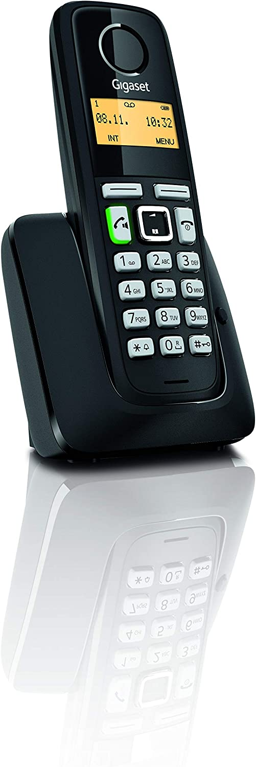 Gigaset A220A TRIO Black 3 Handsets Basic Cordless Home Phone with ...
