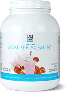 Yes You Can! Complete Meal Replacement, Up to 2 Meals a Day, Helps Lose Weight - Sustituto de Comida Completo con Proteína...