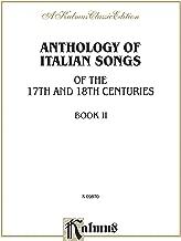 anthology من الإيطالي الأغاني (17th & القرن الثامن عشر), (2: الإيطالي ، باللغة الإنجليزية اللغة إصدار (إصدار kalmus) (إصدار الإيطالي)