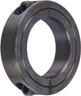"Steel Black Oxide CCI1251S 2-PACK 1-1//4/"" Single Split 1-PC Clamp Shaft Collar"
