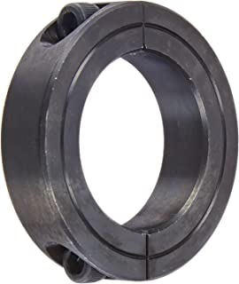 Climax Part 2C-150, Mild Steel, Black Oxide Plating, Clamping Collar, 1 1/2 inch bore, 2 3/8 inch OD, 9/16 inch Width, 1/4-28 x 3/4