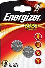 CR2025 Energizer - Pile, CR 2025, lithium 3V, DL 2025 - Les 2 piles