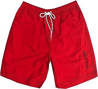 Mens Quick-Dry Logo Swim Trunk Shorts