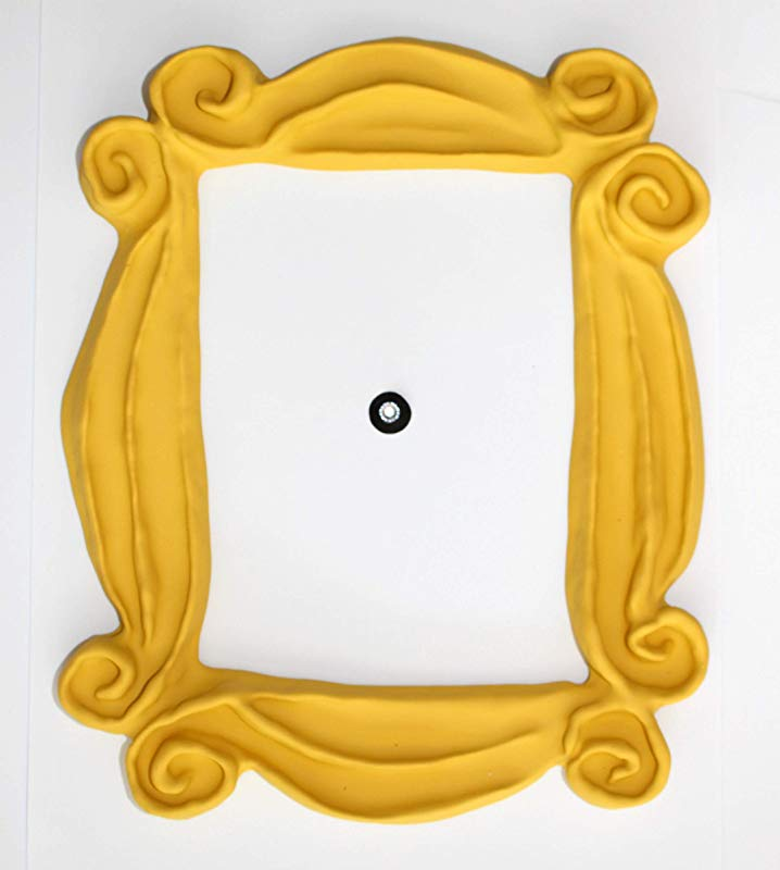 Handmade With Love By Fatima Peephole Yellow Frame Replica Of The Frame Seen In Monica S Door It Has Two Side Tape Ready To Hang