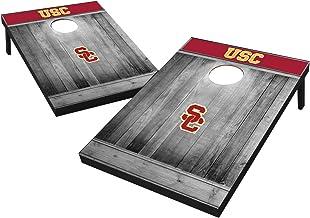 """Wild رياضية 2"""" x2""""فتحة تهوية خشبي الجامعات NCAA cornhole خشبي من مجموعة–باللون الرمادي"""