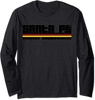 Santa Fe New Mexico Sunset Long Sleeve T-Shirt