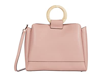 SOLE / SOCIETY Nicoh Satchel (Blush) Handbags