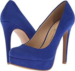 Club Blue Microsuede
