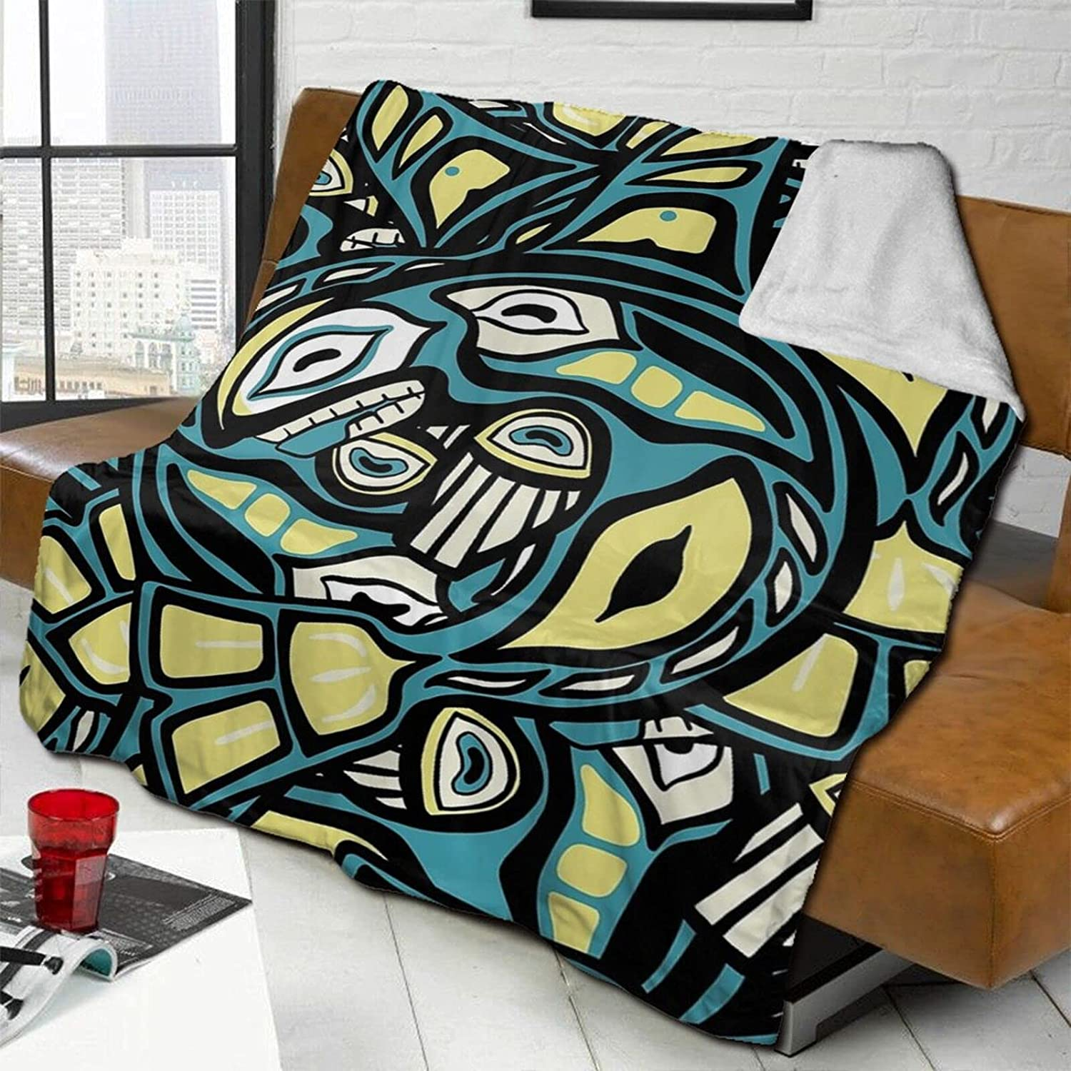 ZENGCY Layered Salish Whale Ultra Our shop most Bombing free shipping popular Micro Ligh Fleece Soft Blanket