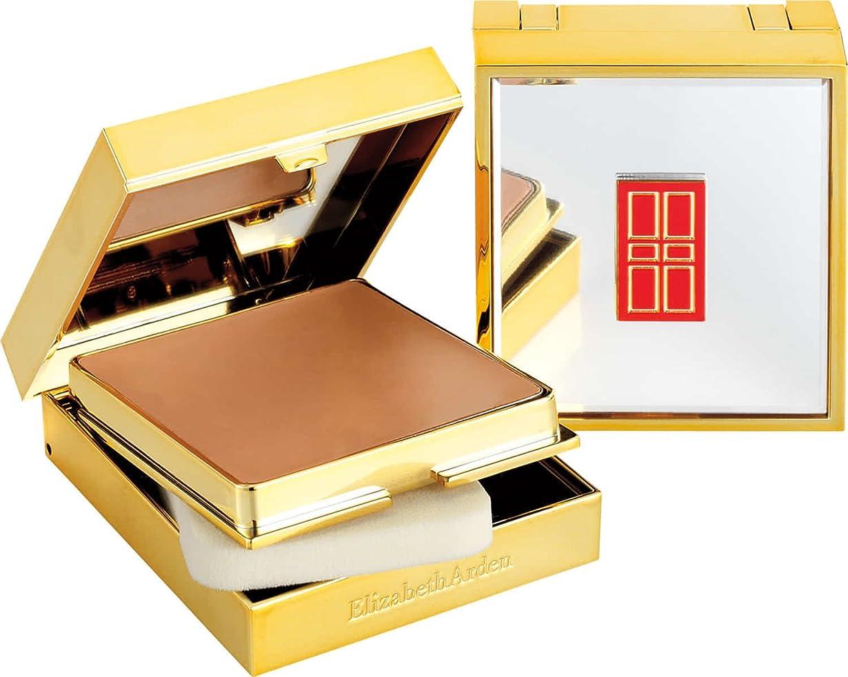 救援憂鬱なエリザベスアーデン フローレスフィニッシュ スポンジオン クリームメイクアップ (ゴールドケース) - 52 ブロンズベージュ II 23g/0.08oz並行輸入品