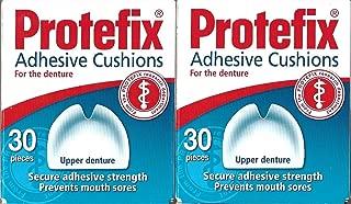 PROTEFIX Adhesive Cushions for Upper Denture - 2x30pcs