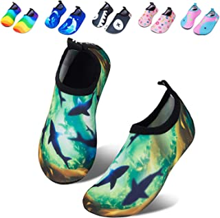 Mabove Kids Swim Water Shoes Non-Slip Quick Dry Barefoot...