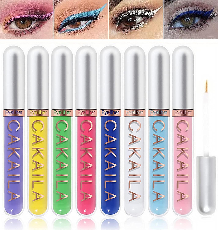 8 Colors Matte Liquid Eyeliner Bargain 2021new shipping free shipping Set Hi Eyeshadow Colorful