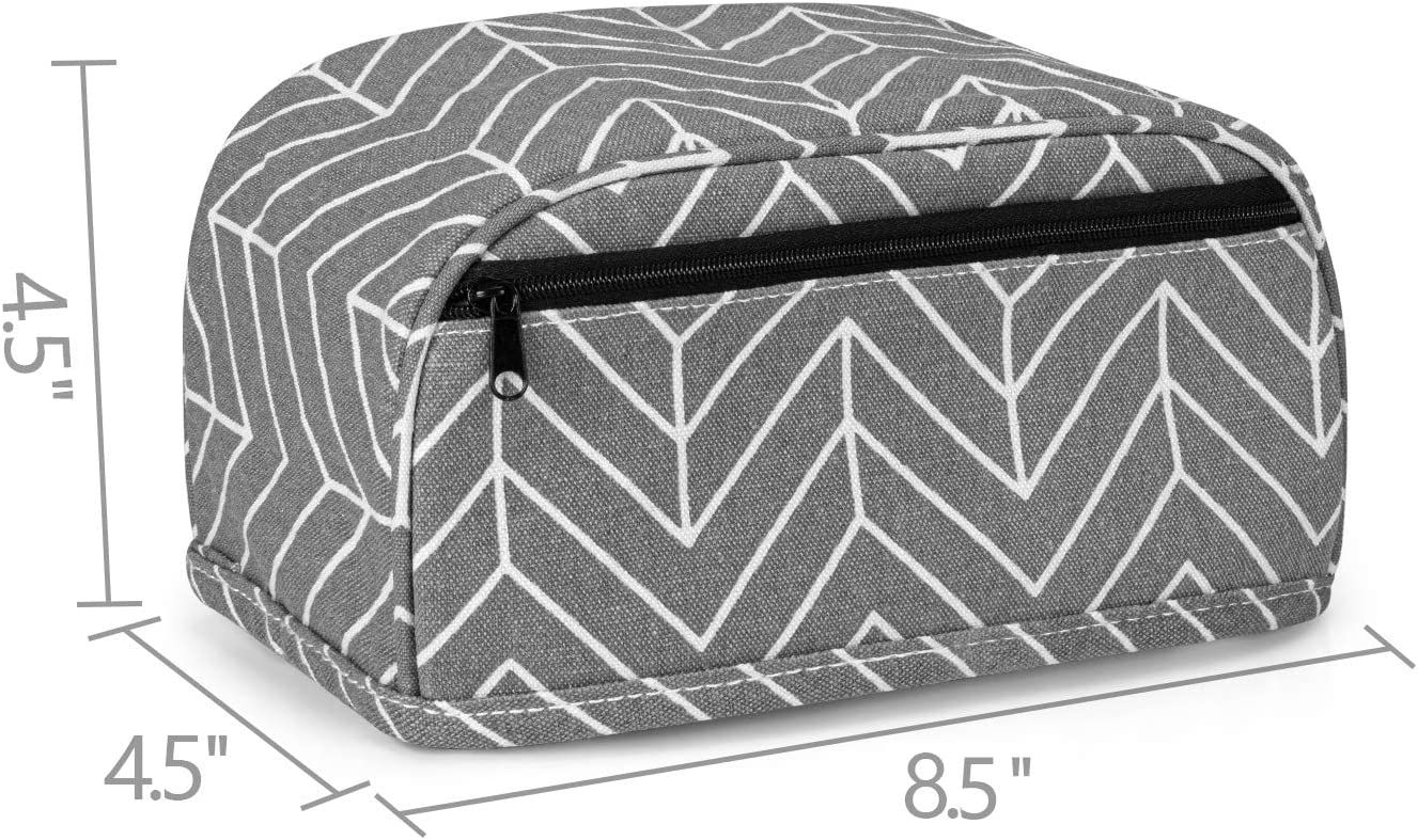 Yarwo Dust Cover Compatible with Cricut Joy Heavy Duty Canvas Cover with Zipper Pocket and Wipe Clean Liner Tree