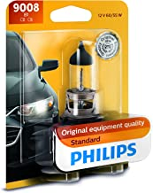 Philips 9008B1 9008 / H13 Standard Halogen Replacement Headlight Bulb, 1 Pack