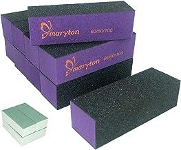 Nail Buffer Sanding Block Polisher Buffing File 60/100 Grit Nail Art Pedicure Manicure..