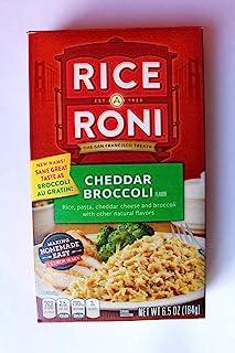 Rice A Roni, Cheddar Broccoli, 6.5oz Box (Pack of 6)