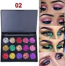 Gaddrt Eye Shadow Palettes 15 Colors Shimmer Glitter Powder