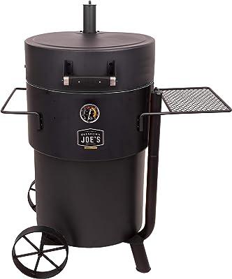 Oklahoma Joe's 19202099 Bronco Pro Drum Smoker, Black