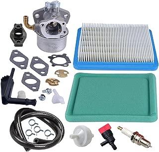 Panari 798653 Carburetor + Air Filter Fuel Line Filter Spark Plug for Briggs & Stratton 697354 790290 791077 698860