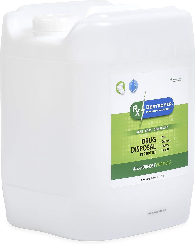 RX Destroyer Medication ブランド買うならブランドオフ Drug デポー Deactivation System and Re Disposal