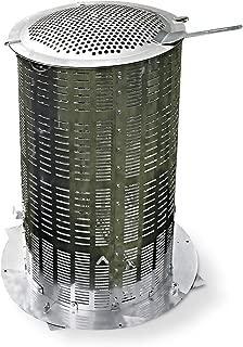 Extra Large 100% Stainless Steel Hi-Temp Burn Barrel - Includes Ash Catcher
