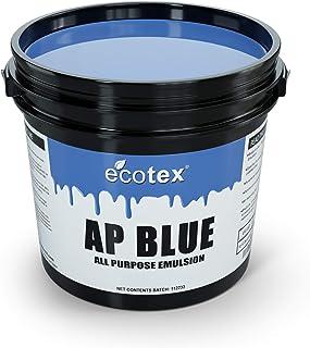 ( 3.8l) - Ecotex AP-BLUE - All Purpose Ready to Use Screen Printing Emulsion ( 3.8l)