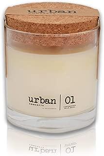 DecoCandleS Urban Concepts Tranquility – Lemongrass & Wild Basil – Highly..