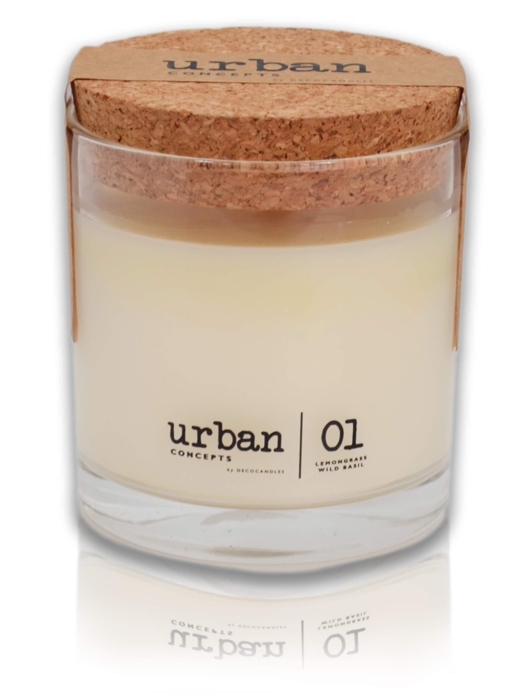 DECOCANDLES Urban Concepts Tranquility Lemongrass