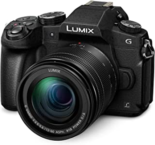 Panasonic LUMIX G85 4k Weather-Sealed Splash/Dustproof Video and Photo All-Rounder Micro Four Thirds Camera + Weatherproof...