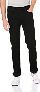 Wrangler Men's Z/Fly Straight Jean, Black Rinse