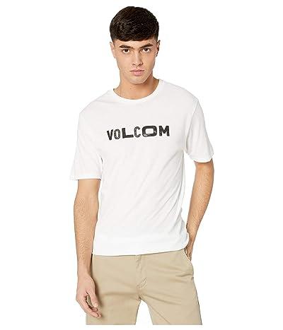 Volcom Reply Short Sleeve Tee (White) Men