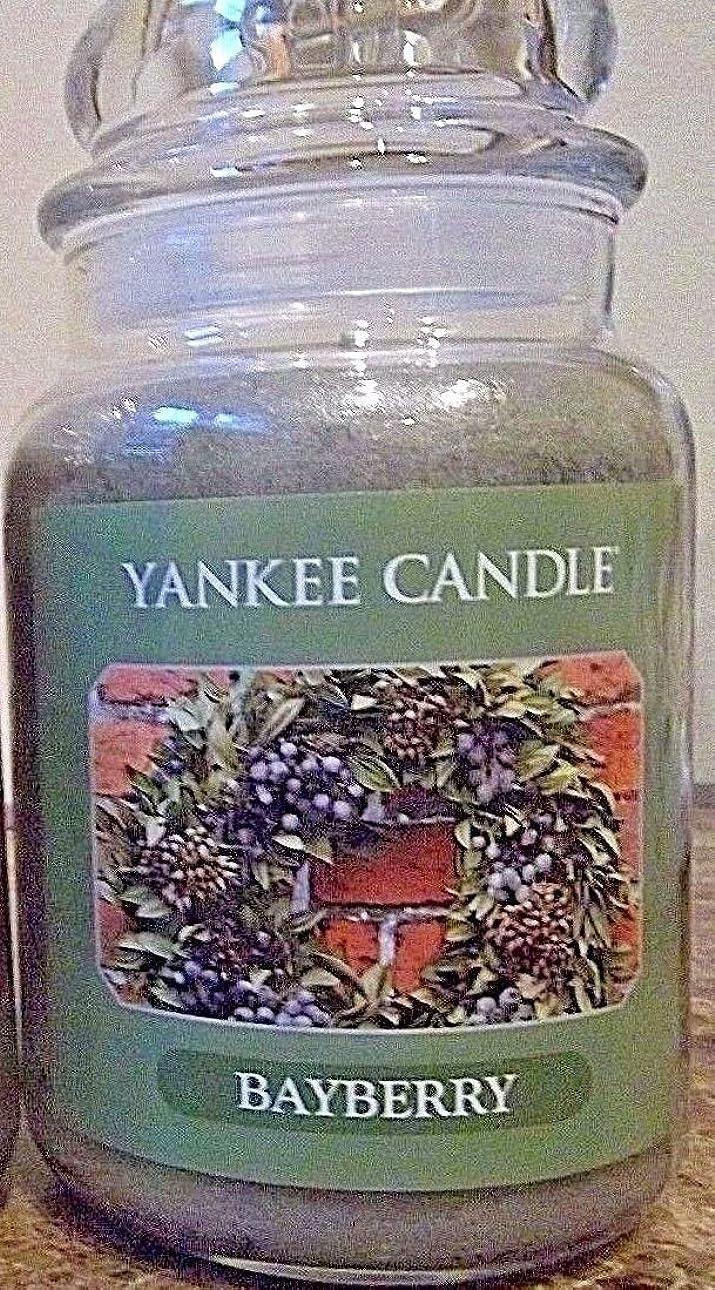 アジア人拍手する畝間Yankee Candle Large Bayberry Jar Candle