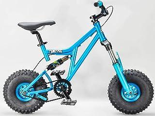 Mini Rig Rocker Mini Bicicleta BMX Verde Azulado Mini MTB Downhill Bike