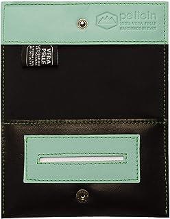 Pellein - Portatabacco in vera pelle Asher - Astuccio porta tabacco, porta filtri, porta cartine e porta accendino. Handma...