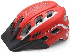 whhuwai Thicken Safety Cycling Helmet PC+EPS Road City Bike Helmet Men Women Outdoor Bicycle Helmet with Visor Cap