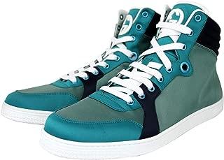 Gucci High top Multicolor Satin Fabric Sneaker 337451 3663